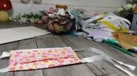 BLOC NOTES : FICHES PRODUITS  pour  CONFECTIONNER un MASQUE de PROTECTION en TISSU & utilisation Papier absorbant - DIY COUTURE FACILE , TUTORIEL
