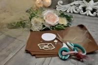 BLOC NOTES : FICHES PRODUITS pour Créations Fleurs Shabby Chic , recyclage restes de tissu et dentelle TUTO