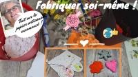 BLOC NOTES : FICHES PRODUITS  pour  fabriquer soi-même papier artisanal ensemencé, cartes ou formes à graines , TUTORIEL