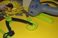 BLOC NOTES : FICHES PRODUITS pour réalisation TOURNESOL GEANT 3D en papier , TUTORIEL