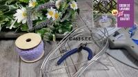 BLOC NOTES : FICHES PRODUITS pour Réaliser un COEUR en LAVANDE récoltée au Jardin, TUTORIEL