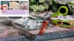 BLOC NOTES : FICHES PRODUITS pour transformer des rubans en jolis noeuds avec une fourchette  , TUTORIEL