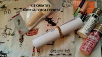 BLOC NOTES les KITS CREATIFS de la BOUTIQUE ,  TUTORIEL