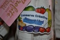 ATELIER HOME DECO/ RECYCLAGE CONTENANTS VERRE : CADEAU fête des MERES, offrir un torchon personnalisé , Bocaux ou  Conserves Créatives : Fraises en Bocaux, TUTORIEL
