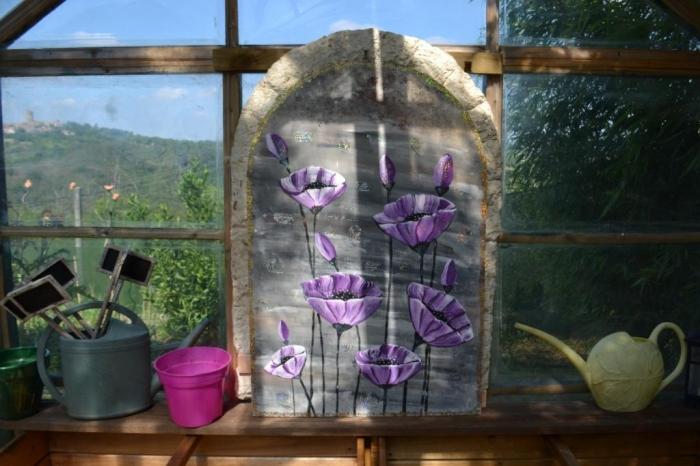 ATELIER PEINTURE FACILE : TECHNIQUE du ONE STROKE Fleurs du Jardin ANEMONES, VIDEO