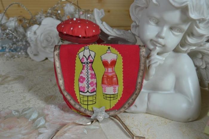 ATELIER COUTURE FACILE  : Réaliser une Pochette kit de Couture de poche TUTORIEL