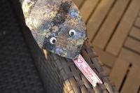 Atelier COUTURE FACILE : Un drôle de Doudou, Mon Serpent Cravate ! TUTORIEL
