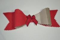 Atelier BRICOLAGE/RECYCLAGE : Réaliser Un Noeud en tissu qui se prend pour un Papillon , TUTORIEL
