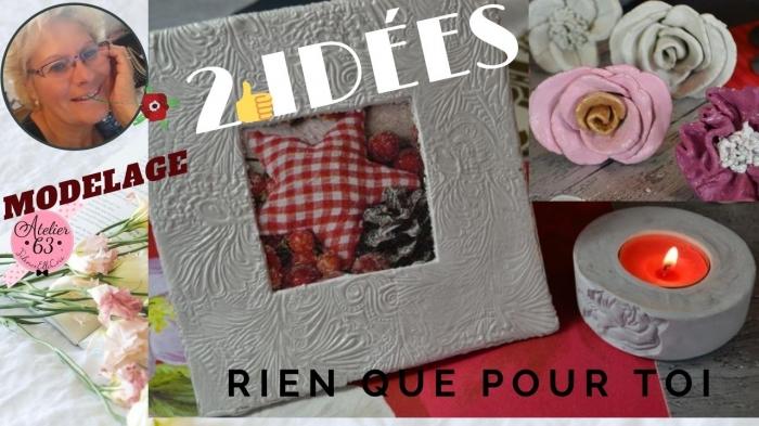 ATELIER DE NOEL - MODELAGE - FESTIF : Décorations à MODELERP our La Maison, VIDEO