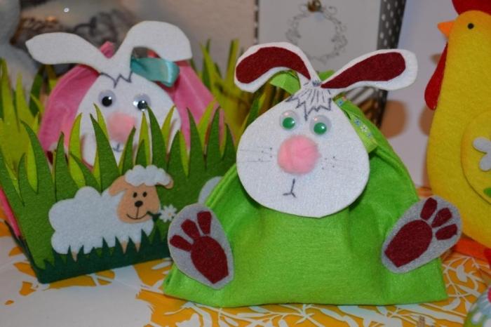 DIY Bricolages de Pâques : Lapins sacs à Oeufs chocolats, Vidéo