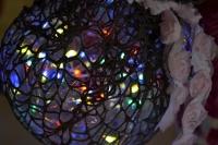 Durcisseur Textile ART DECO : Je récupère, détourne et fabrique une lampe d'ambiance !