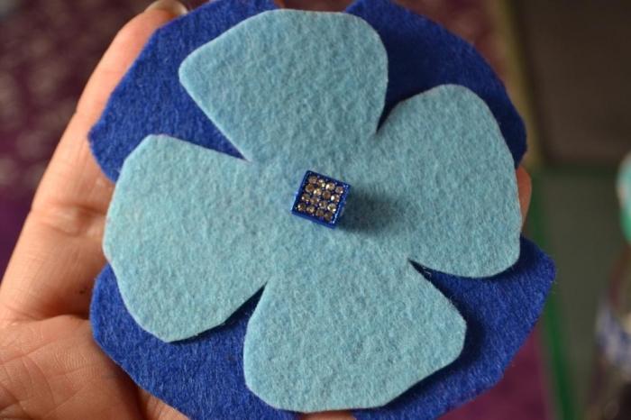 ATELIER TUTO COUTURE FACILE : Fabriquer des Fleurs en Feutrine pour customiser une Création Textile, tutoriel