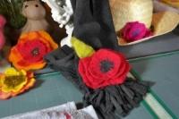 Atelier LAINE FEUTREE : Fabriquer des fleurs en Laine Feutrée, VIDEO