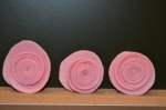 ATELIER TUTO HOME DECO/FEUTRINE : Fabriquer rapidement des Roses en Feutrine, TUTORIEL