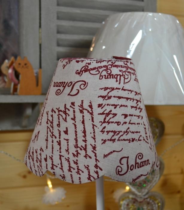 ATELIER HOME DECO /  LUMINAIRE : Fabriquer un ABAT JOUR festonné, TUTORIEL