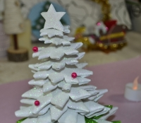 ATELIER de NOEL - FESTIF : Fabriquer un SAPIN en Mousse Thermoformable, VIDEO