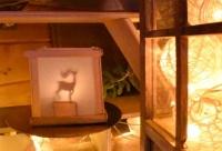 ATELIER de NOEL - FESTIF :  Fabriquer une LANTERNE de NOEL en PAPIER avec ombres chinoises, VIDEO