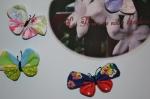 Magnets décoratifs, broches Papillons , VIDEO