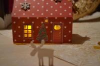 ATELIER de NOEL - FESTIF : Fabriquer des Maisons Lumignons de NOEL, TUTORIEL