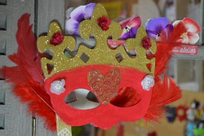 ATELIER MASQUE - FESTIF : Masque de Carnaval  COURONNE, TUTORIEL