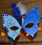 ATELIER MASQUE - FESTIF : Réaliser un MASQUE en BOIS forme PAPILLON pour le Carnaval ou une fête avec déguisement, TUTORIEL