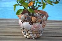 Quand le jardin nous surprend à rêver de l'Océan : la déco se pare de coquillages ..