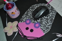 Atelier HOME DECO (BRICOLAGE) : Tapis de Souris  Ordinateur, VIDEO