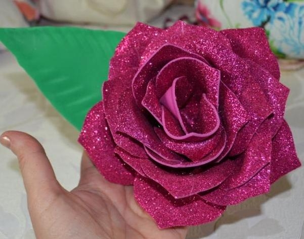 "Atelier HOME DECO/ BRICOLAGE : REALISER DES ROSE avec Moule Thermoformable ""Rose Jumbo"", VIDEO"